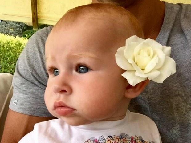 Панеттьери показала новое фото дочери (ФОТО)