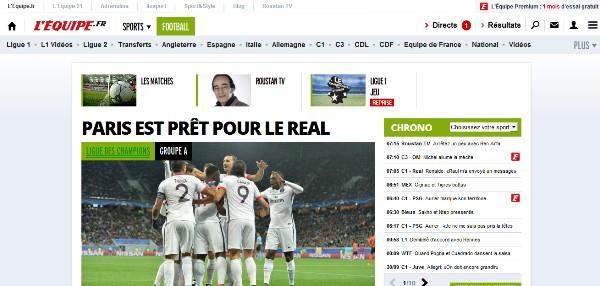 Французские СМИ об итогах  матча ЛЧ Шахтер - ПСЖ