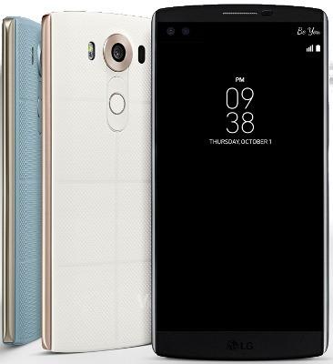LG V10: смартфон с 2 экранами и двойной фронтальной камерой