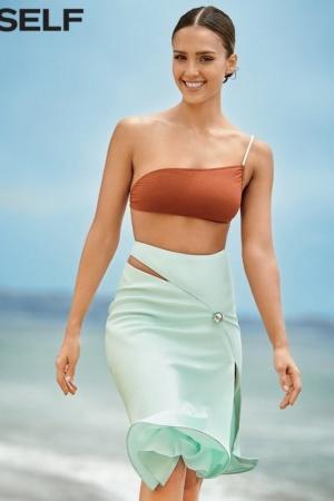 Джессика Альба в новой пляжной фотосессии (ФОТО)