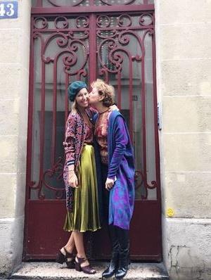 Парижская прогулка Ксении Собчак (ФОТО)