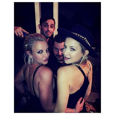 Домашняя вечеринка Кейт Хадсон и Бритни Спирс (ФОТО)