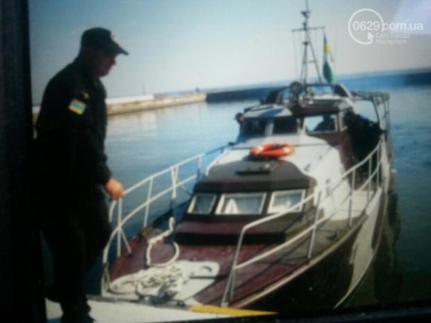 Пограничникам в Мариуполе подарили катер