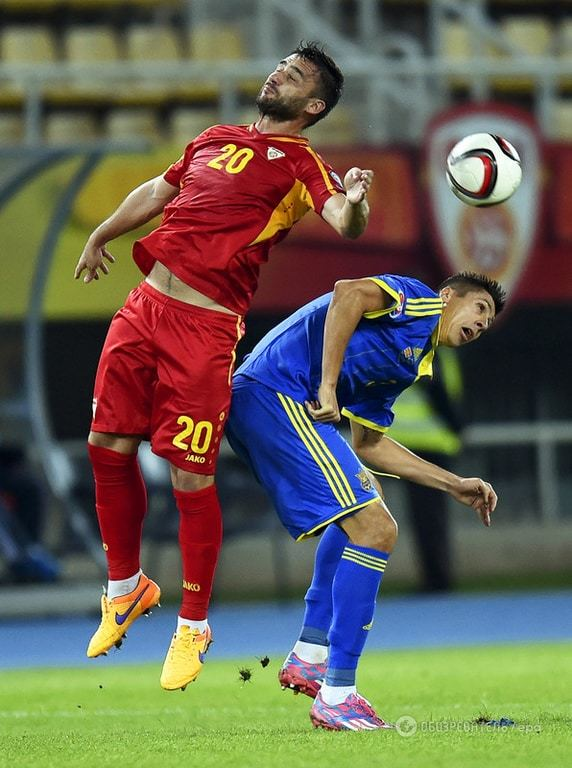 Евро-2016: Украина обыграла Македонию (ФОТО, ВИДЕО)