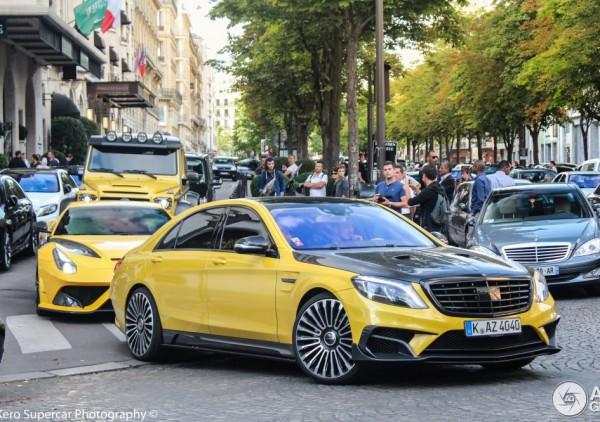 В Киеве заметили 1000-сильный Mercedes за полмиллиона евро