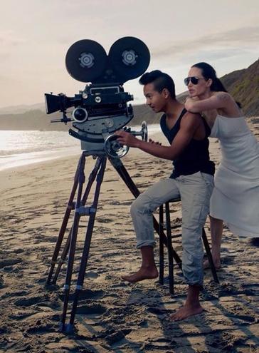 Анджелина Джоли и Брэд Питт снялись в новой фотосессии