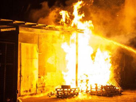 Мощный взрыв под Киевом