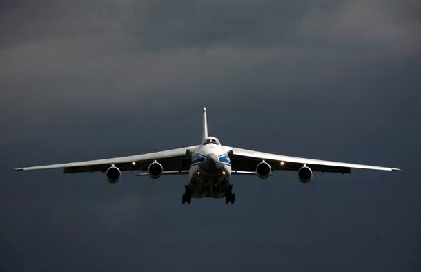Россия перебрасывает силы в Сирию на украинских АН-124