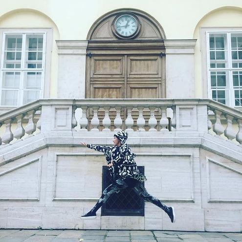 Ксюша Собчак отдыхает с супругом в Вене