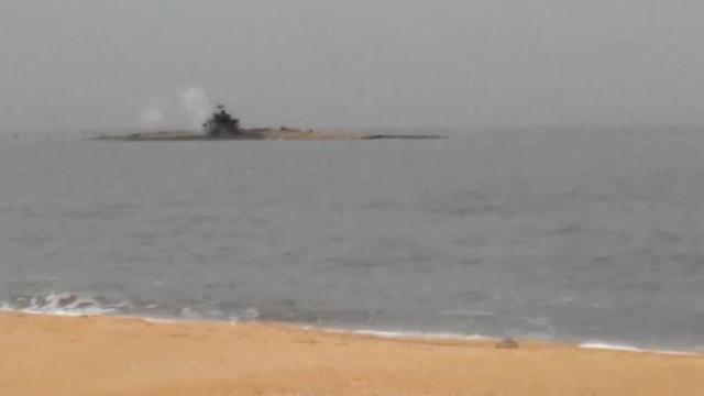 Извержение грязевого вулкана на Балтийском море (ВИДЕО)