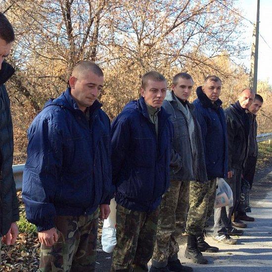 Избавление российских захваченных (ФОТО)
