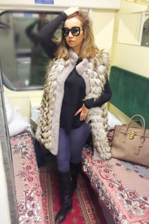 Анфиса Чехова пришла в Киев (ФОТО)