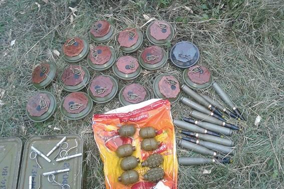 «Русский мир» на Луганщине: гранаты и мины в любой трубе