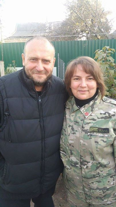 СБУ украли Яроша с базы ПС в Днепропетровской области?