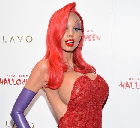 Хайди Клум сразила всех хэллоуинским костюмом (ФОТО)