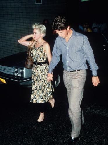 Мадонна и Шон Пенн шли на рандеву