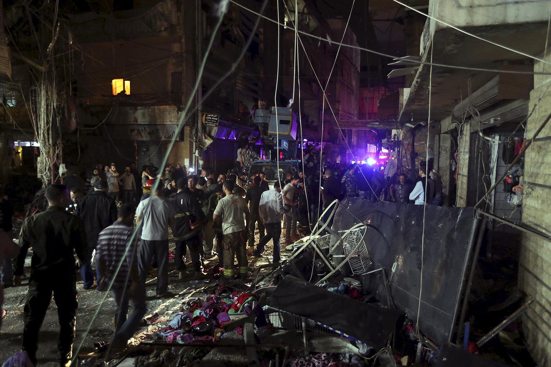 Акт ИГИЛ в Бейруте: были убиты 43 человека (ФОТО)