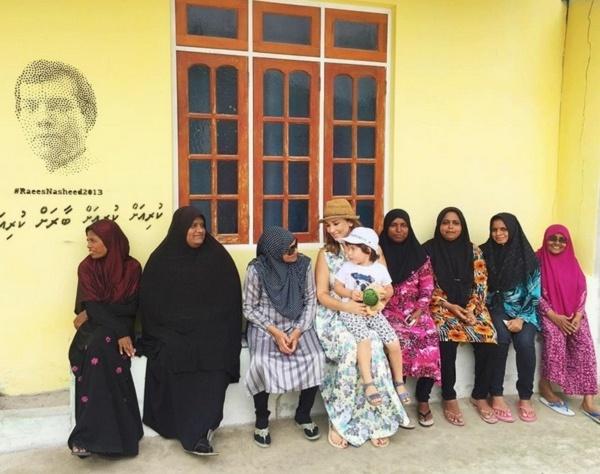 Анфиса Чехова основалась на Мальдивах (ФОТО)