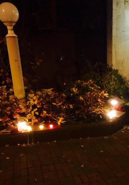 Теракты во Франкфурте: репортаж