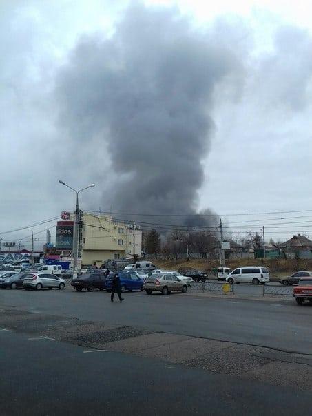 Детали крупного пожара в Харькове (фото,видео)