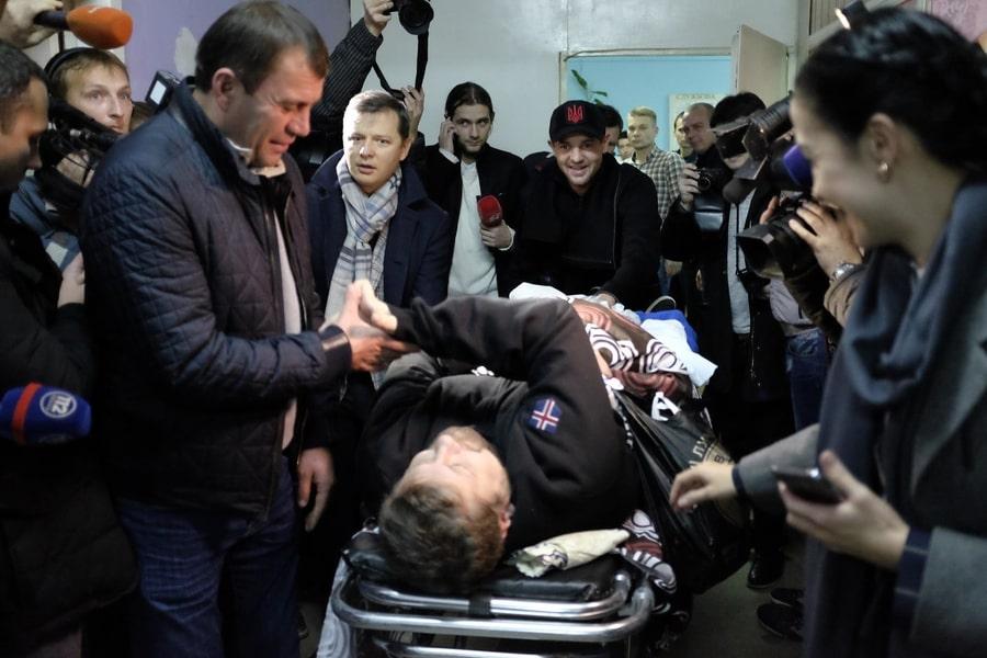Мосийчука отпустили из-под стражники