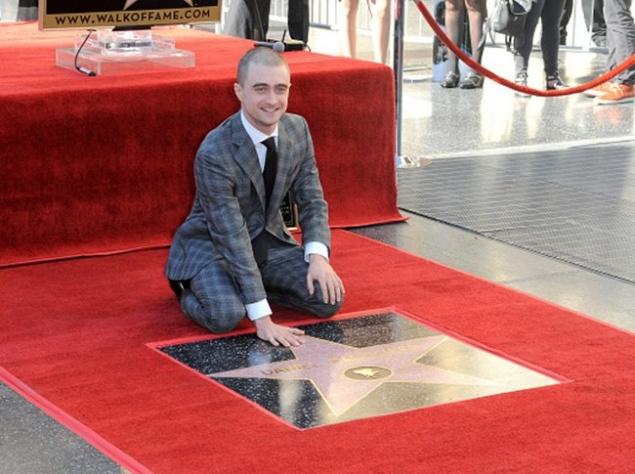 Дэниэл Рэдклифф обрел звезду в Голливуде (ФОТО)