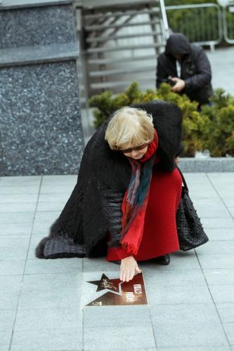 В Киеве раскрыли Площадь Звезд (ФОТО)