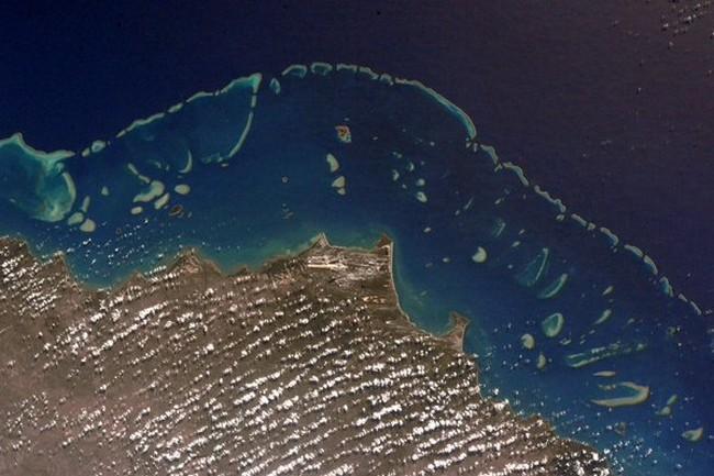 Космонавт НАСА сообщил умопомрачительные фотографии с орбиты (ФОТО)