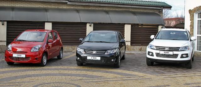 На Украине начнутся реализации авто Zotye