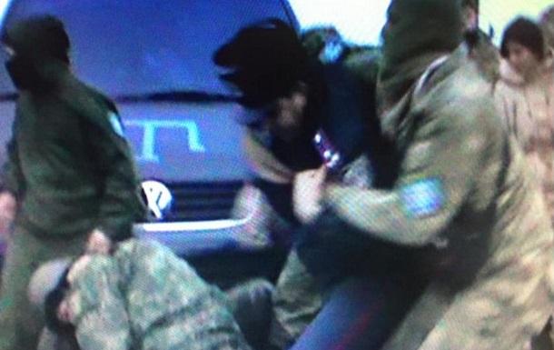 ФОТО:В Чаплинке в процессе инцидента поранить полковника милиции