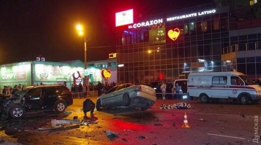 В Одессе  в ДТП были убиты 6 жителей других стран (ФОТО)