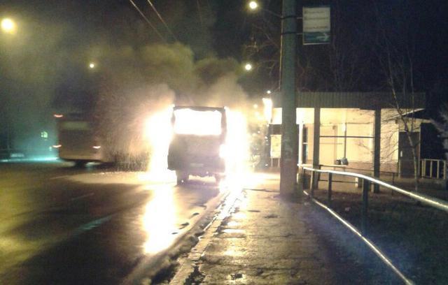 Террористка в Полтаве подорвала автобус (ФОТО, ВИДЕО)