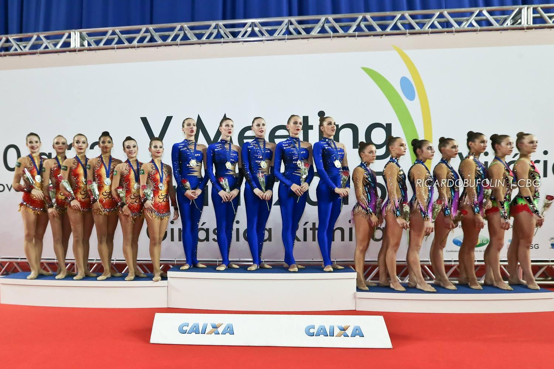 Российские гимнастки выиграли все в Бразилии (ВИДЕО)
