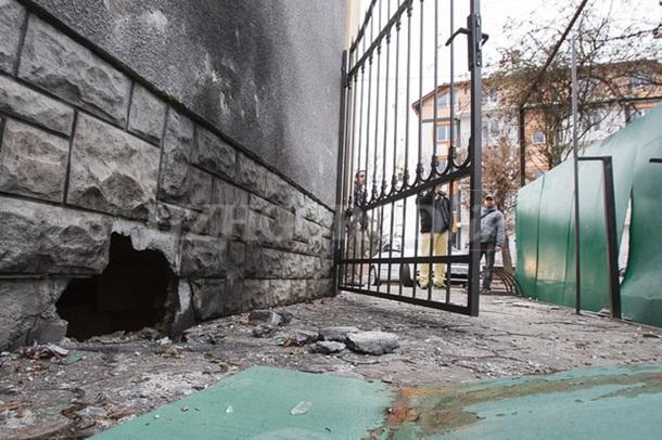 Взрыв в Ужгороде (ФОТО)
