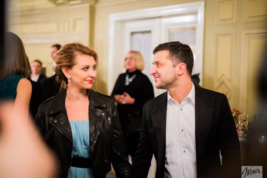 Владимир Зеленский вышел в свет с супругой (ФОТО)