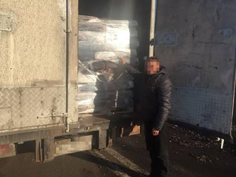 В Донецкой области арестованы фуры с продуктами для ДНР