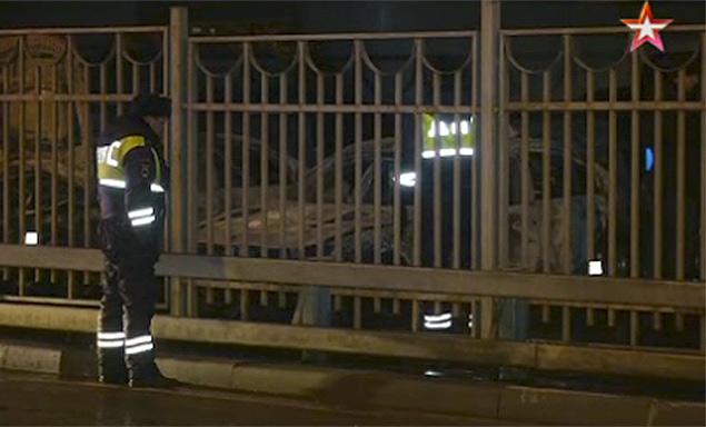 На Рублевке сожгли девять автомобилей (ФОТО)
