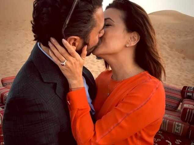 Ева Лонгория объявила о помолвке (ФОТО)