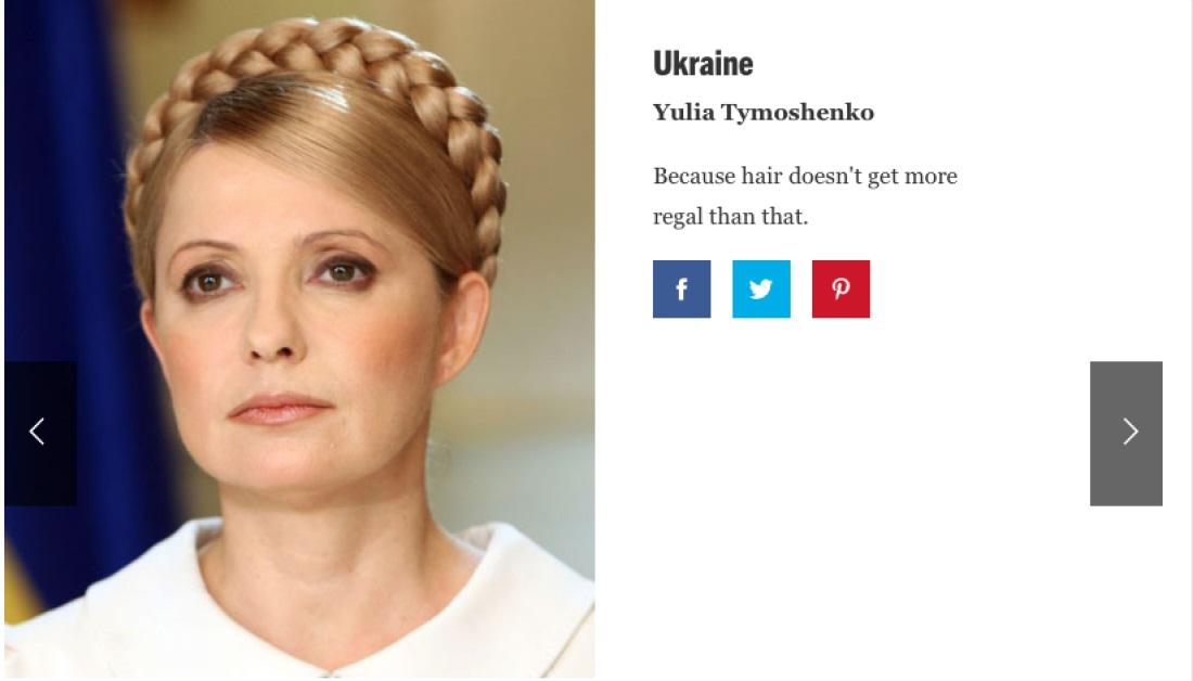Кто самая сексуальная украинка в мире по версии Esquire?