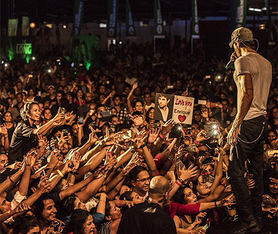 Концерт Иглесиаса вызвал негодование президента Шри-Ланки