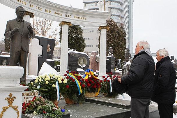 Фото: В Киеве удостоили память Лобановского