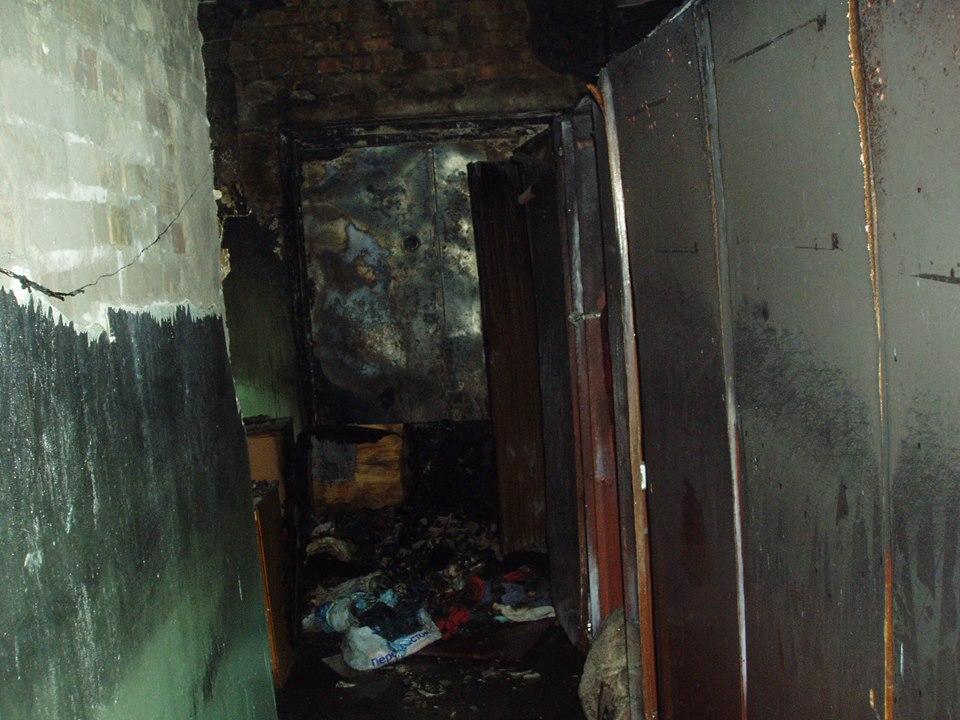 В роддоме под Киевом случился пожар (ФОТО)