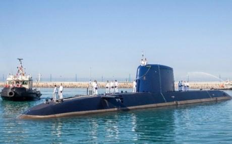 В Израиль прибыла пятая подводная лодка построенная немцами