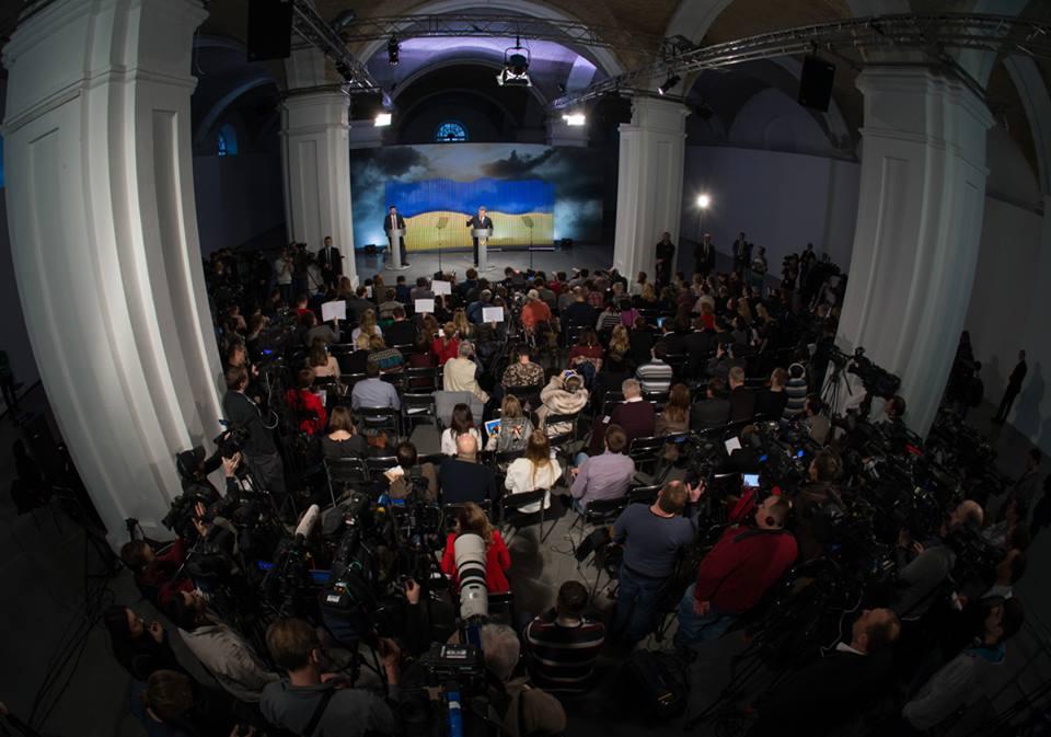 20 ключевых тезисов Порошенко на пресс-конференции
