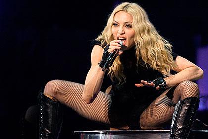 Мадонна шокировала публику в Кентукки