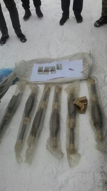 Фото: На Киевщине боец АТО торговал гранатометами