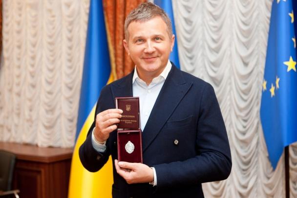 Юрию Горбунову присвоено звание Заслуженного артиста Украины