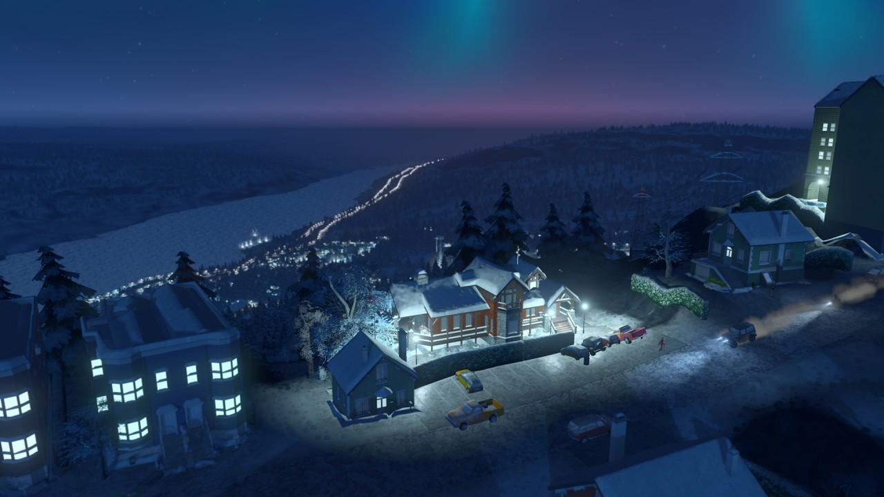 Фото: Cities: Skylines: новое дополнение Snowfall
