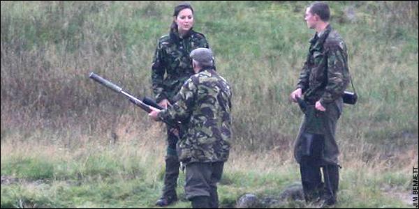 Кейт Миддлтон сходила на охоту вместе с мужем (ФОТО)