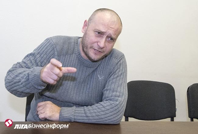 Ярош о войне с Россией, Донбассе и возможностях ПС